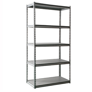 adjustable light duty metal rivet shelving pole shelf racking