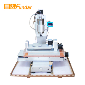 Good Quality 5 Axis HY 3040 Mini Wood Stone Carving CNC Router Milling Machine