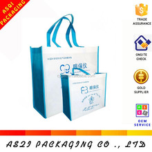 100% recycling reusable custom logo printed advertising tnt bag for promotion