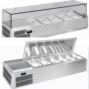 Countertop Electric Salad Bar Display Refrigerator