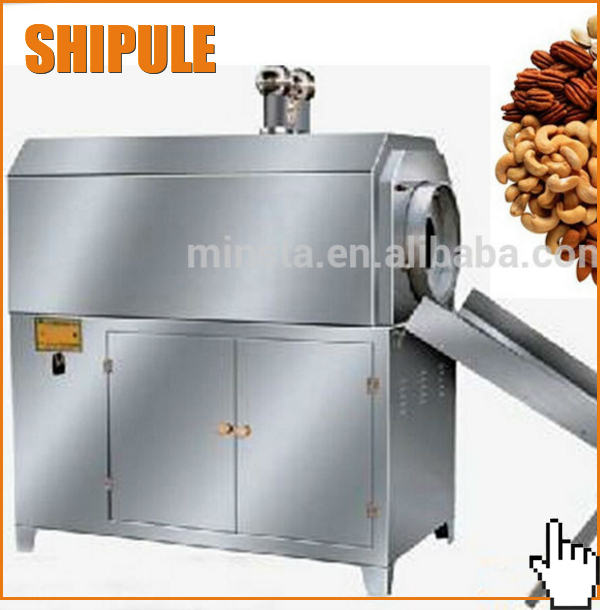 cashew nut processing equipment/hot sale peanut roaster