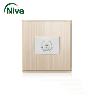 china factory price 1 gang speed control fan dimmer switch with electrical wall switch