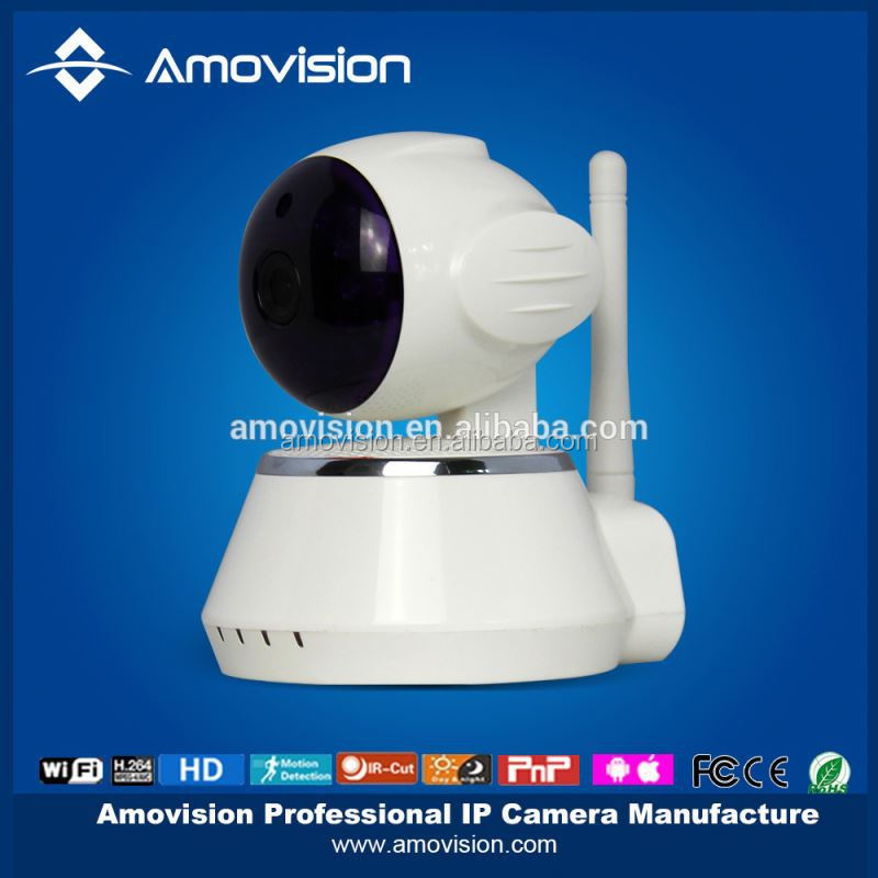 QF510 Mini wif Pan/Tilt nightvision baby moitor smac wireless security camera p2p ip camera