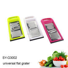 SY-G3002 stainless steel flat cheese vegetable grater