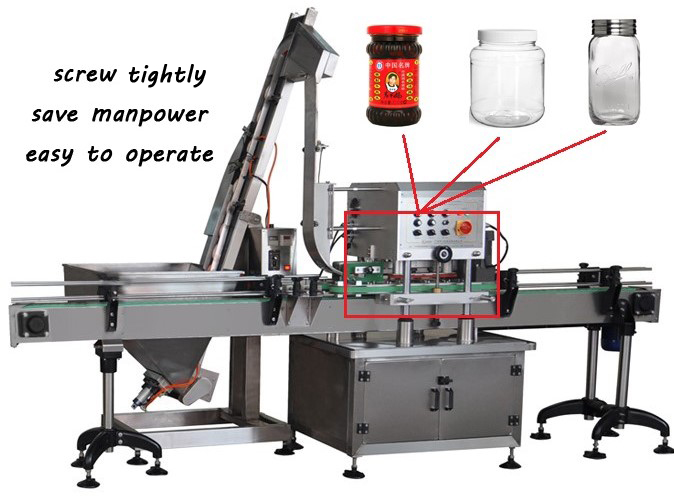 50-90 Bot/min capper machine for plastic bottle