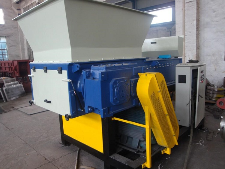 Large sized Plastic Drum Single Shaft Shredder