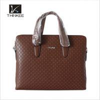 Custom Logo Best Genuine Top Grain Real Leather Shoulder Handbag For Man