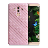 For HUAWEI mate 10 pro case, soft and light TPU knit weave phone case and accessories phone cases for HUAWEI