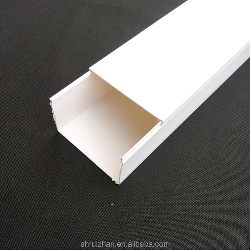 Hot Decorative PVC Wiring Channel Square Duct /PVC Cable Trunking