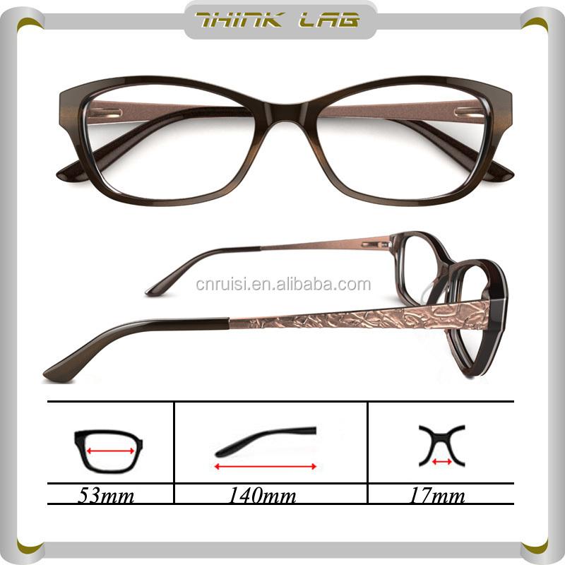 Latest Design Spectacle Optical Frame Eyeglass Frame Parts - Buy ...