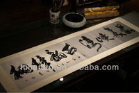 Chinese Calligraphy,Cultural gifts, calligraphy hangs a picture