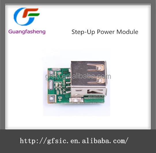 Lithium Battery Charging Board Boost Converter LED Display USB Step-Up Power Module