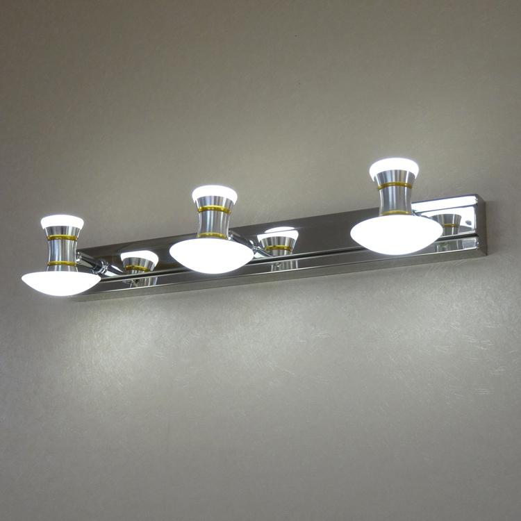 Bathroom Wall Mirror With Led Lights: Bathroom Vanity Mirror Lights LED Wall Lamp Wall Lamp