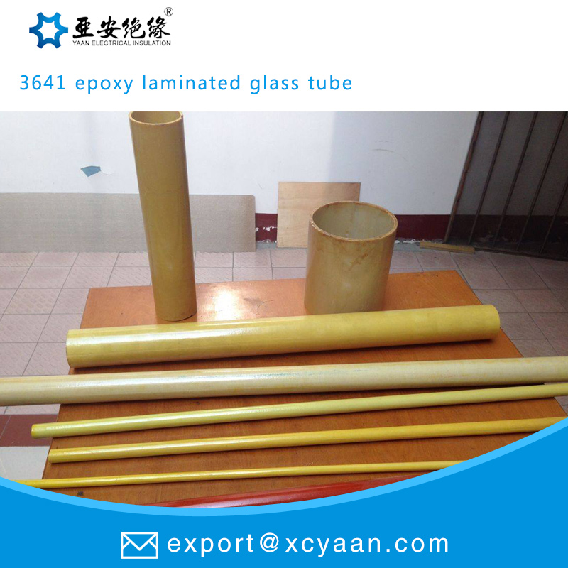 3641 epoxy laminated glass tube electrical insulation tube