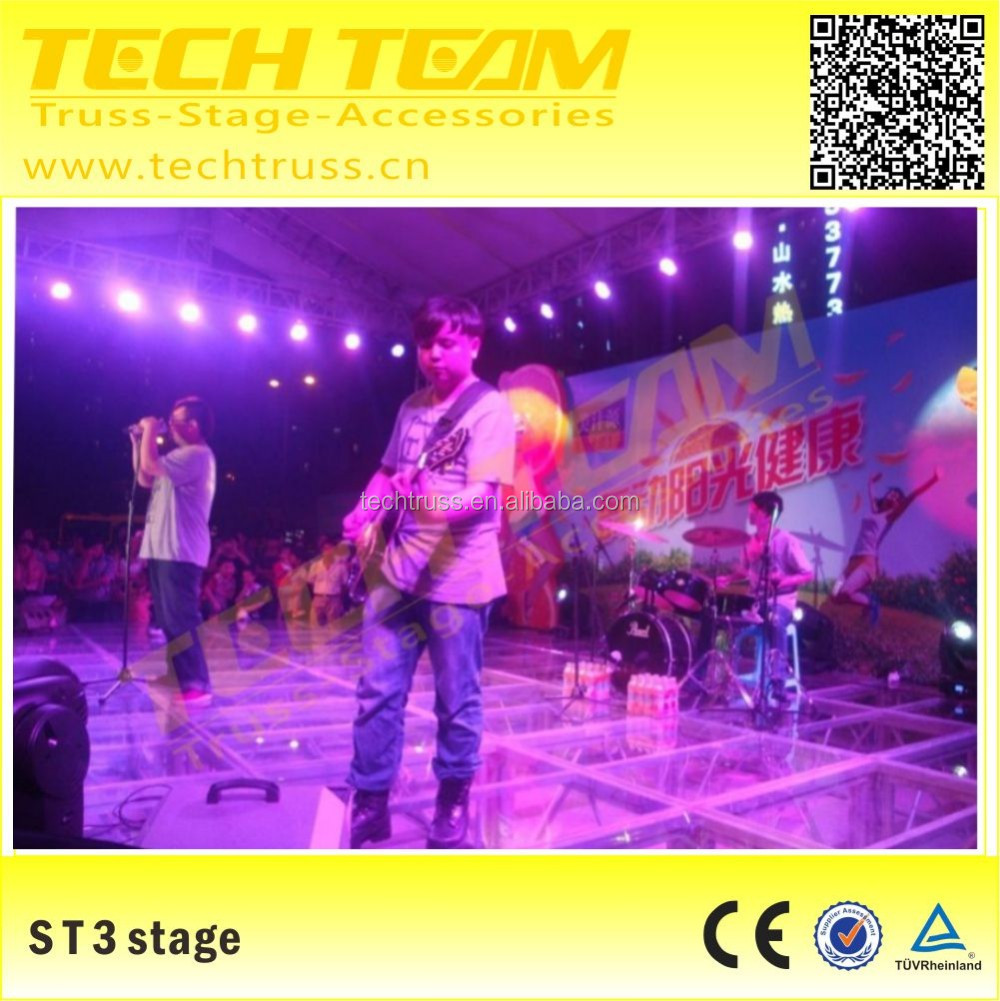High Quality Bottom price cheap wedding mobile stage for sale , used concert stage platform