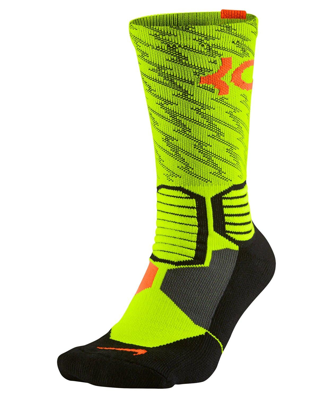 8f6310bff452 Nike Men s Hyper Elite KD Basketball Crew Socks X-large (Shoe Size 12-