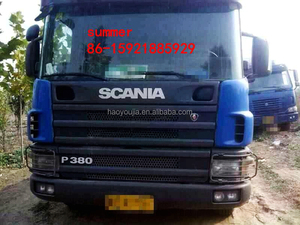 6x4 all wheel drive tractor truck scania/trailer head for sale