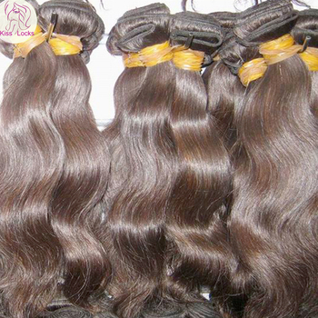 Wholesale Trend beauty hair Body Wave bundles Cambodian Natural Brown RAW Virgin Hair Weaving Premium10A