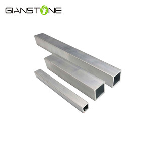 HIgh Quality Aluminum Profile Square Tube For Decoration