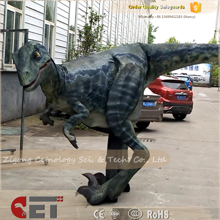 CET-N1028 Cetnology Zigong high simulation inflatable dinosaurs costume for amusement park