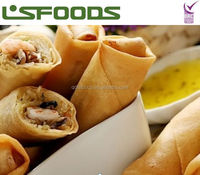 Supply IQF Frozen vegetable spring roll Frozen food