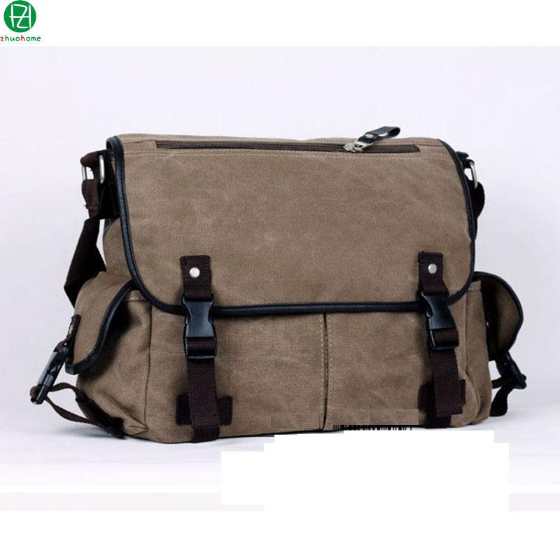 Get Quotations New 2017 Outdoor Canvas Men Messenger Bags Business Shoulder Bag S Travel Hasp Cover Laptop