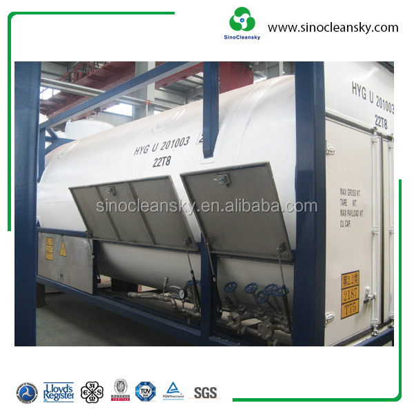 LNG, CO2 ISO Tank 35 M3 Container