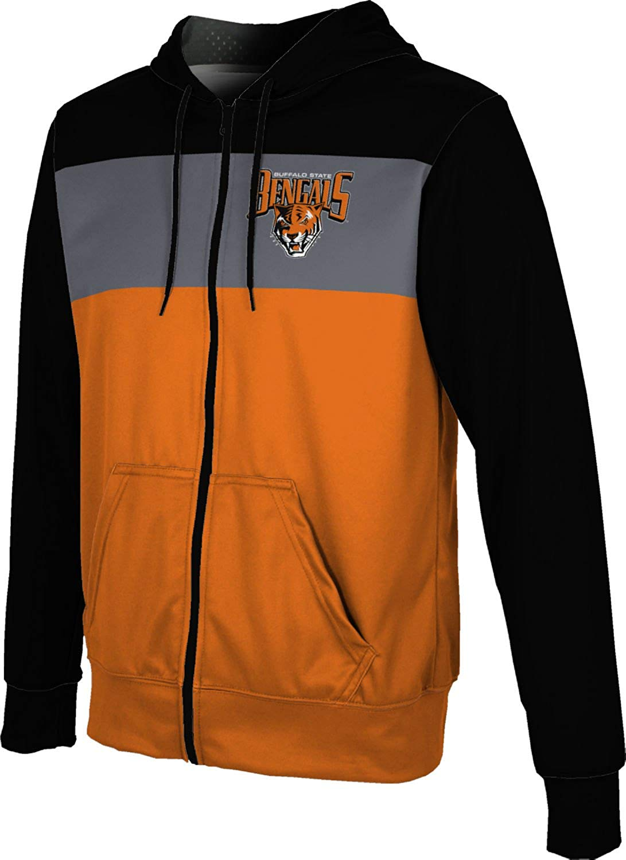 554fe11e912b Buy ProSphere Buffalo State College Mens Full Zip Hoodie - Prime in ...