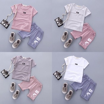 8c7206a091886 Children Boys Short Sleeve Suit 2017 Summer Clothing Kids 1-2-3-4 Year Old  Baby Clothing T-shirt Shorts Two Set - Buy Baby Boys Clothes,Kids Clothes  ...