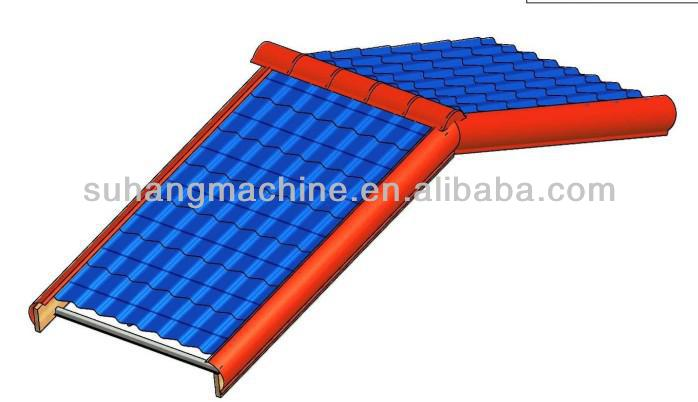 Factory Sale! Nice Roofing Glazed Tile Making Machine