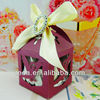 Pearlized Purple Tercel design Party wedding Box Model number zh-120
