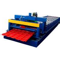 Hot sale price tile metal roofing sheet glazed tile roof machine automatic steel coil