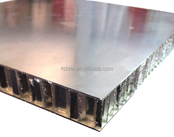 Aluminum Honeycomb Core Panels Comprising Aluminium Sheet
