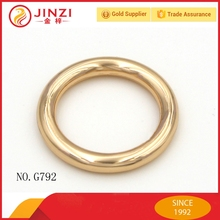 2015 Fashion metal zinc alloy o ring for handbag hardware, strap connecting metal O ring