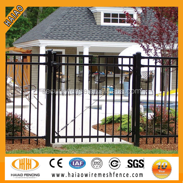 the material of round steel fencing post