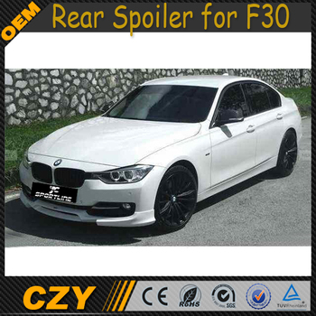 K Style Pu Front Bumper Lip For Bmw F30 Buy F30 Front Bumper Lip