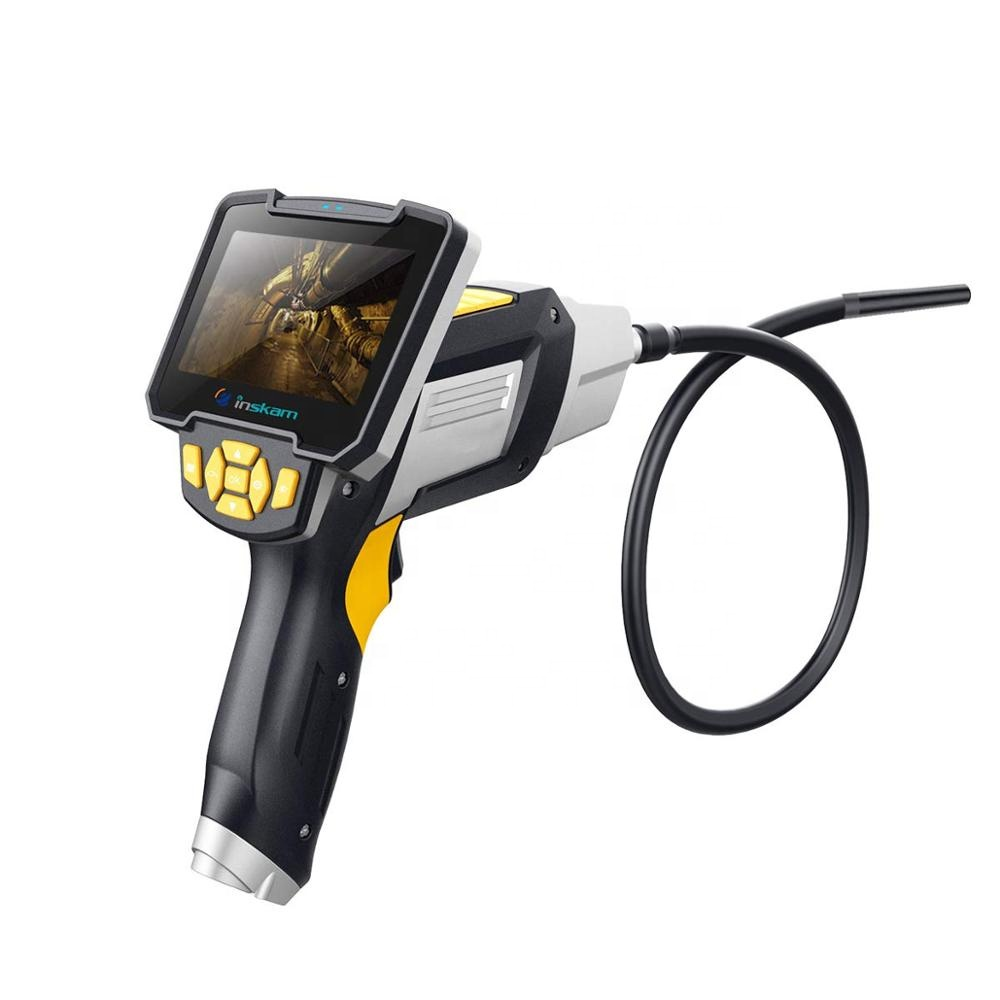 Professional Industrial Inspection <strong>Camera</strong> with 4.3in large LCD Screen HD 1080P Digital Endoscope Borescope