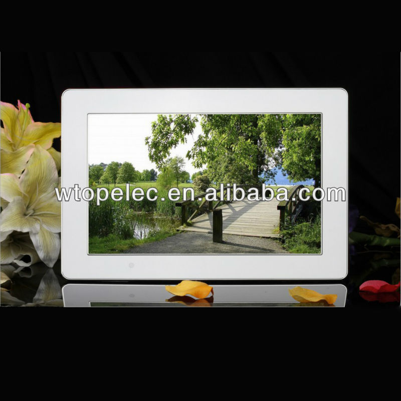 2018 ShenZhen 13.3 inch digital photo frame 100% brand HD panel for video loop