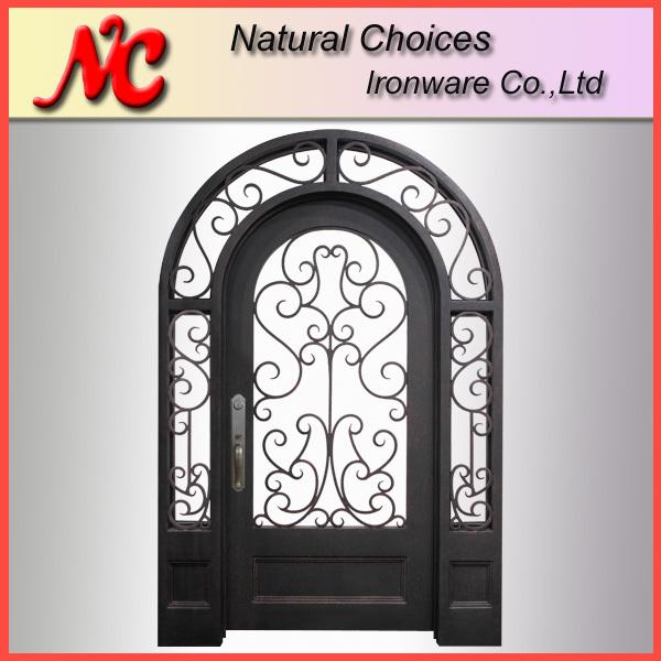 puertas de entrada de hierro para la casa