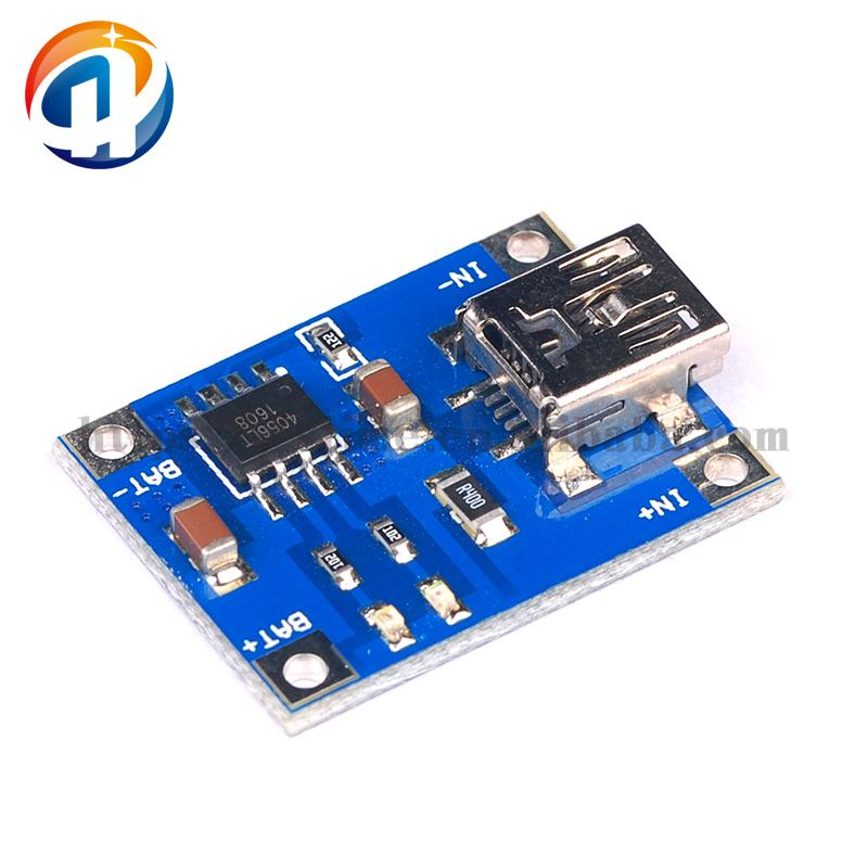 Mini Port TP4056 1A Lithium Battery Charging Board Battery Charger Module