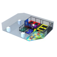 Lage prijs populaire koop safe kid adult outdoor/indoor trampoline parken