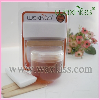 Waxkiss Professional Sugar Wax Kit With Wooden Spatula And Waxing Strips -  Buy Sugar Wax,Sugar Wax Kit,Professional Waxing Kit Product on Alibaba com