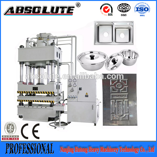 Y32 315tons High Quality Four Pillar Stretching Hydraulic Press Machine For Making Aluminum Pots and Pans