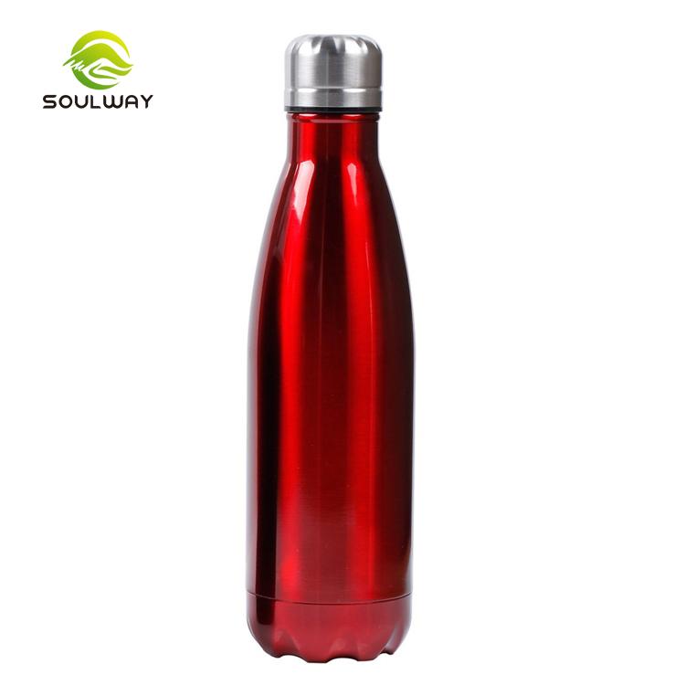 Heiße Verkäufe im Freien reisen umweltfreundliche 350ML 500ML 750ML 1000ML vakuumisolierte Edelstahl-Wasserflasche