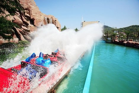 Most Exciting Acquatic Equipment,Exciting Log flume China electric amusement equipment