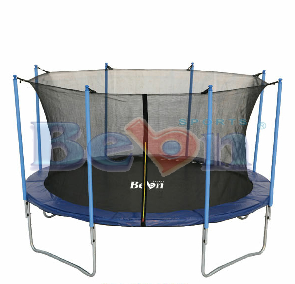14ft children trampoline with safety net, Exercise trampoline