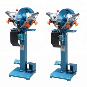 Automatic Plastic Snap Fastener Button Attaching Machine Used For Setting Jeans Buttons