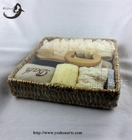 2016 Natural Woven bath and body gift set