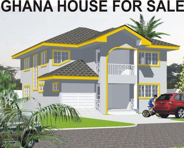 3bed Rooms House For Sale Kotobabi Spintex Ghana - Ghana House Plans ...