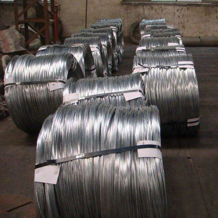 Nanxiang Steel hot rolled gi wire 6mm galvanized steel rod coil